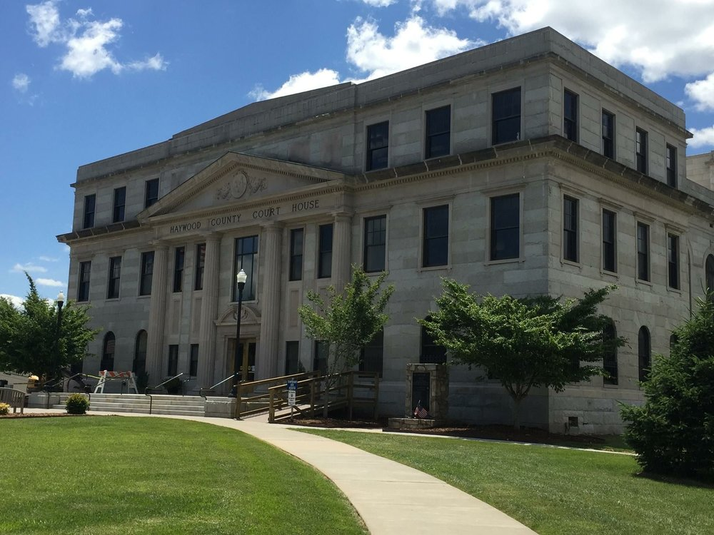 Candidate Forum at the Haywood County Courthouse -