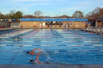 Swimming laps in a pool can be noise-clearing as well.