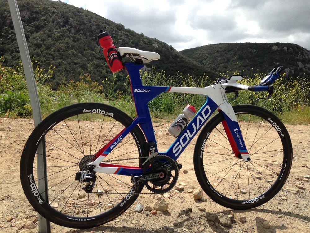 New race bike for Oceanside