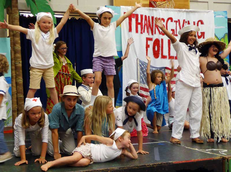 The 2014 production of South Pacific at Beach School