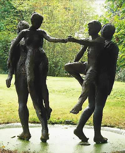 Double Dream (large scale bronze)