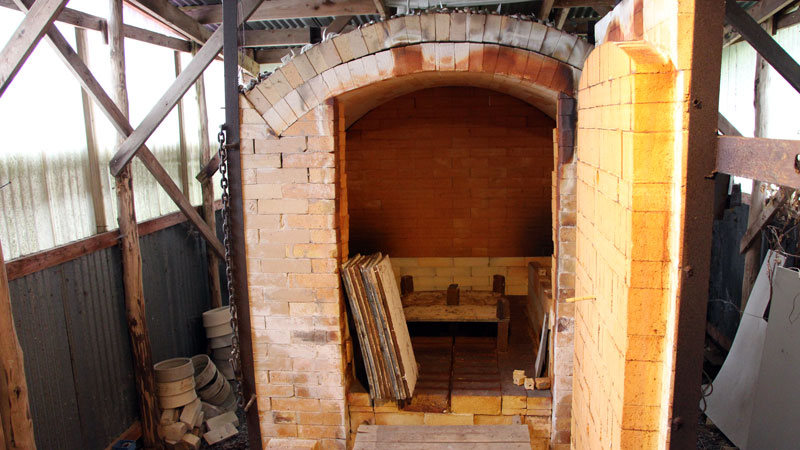 Ria's kiln