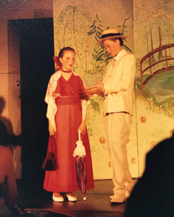 1993 production of  The Music Man