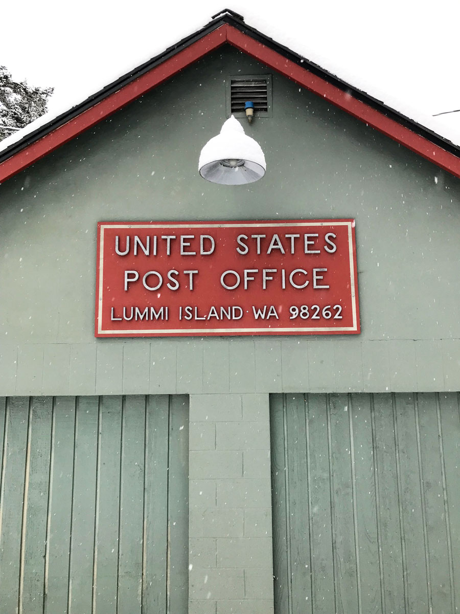 The Post Office, no mail delivered today!