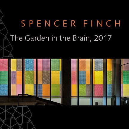 Spencer Finch: The Garden in the Brain. Artist lecture followed by reception Wednesday, February 7, 4:00pm at Brown University's new Engineering Research Center, 345 Brook St. #brownuniversity #engineeringresearchcenter #spencerfinch #installationgraphics
