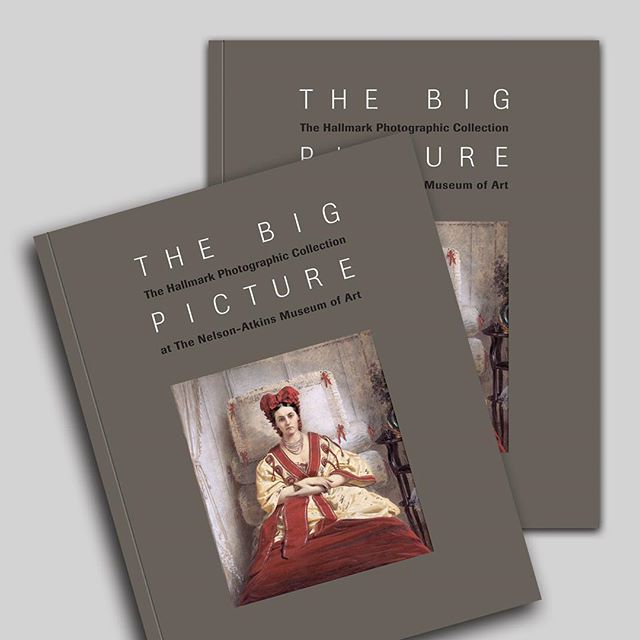 Catalogue design for The Big Picture, on view at the Nelson-Atkins Museum of Art through October 7, 2018. #cataloguedesign #graphicdesign #nelsonatkinsmuseum #thebigpicture #fineart #hallmarkphotographiccollection