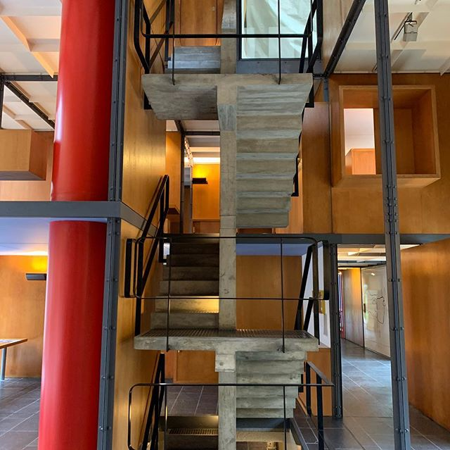 @hauckmeetings is proud to be the lead planner for upcoming American Institute of Architects Committee on Design Meeting to be held in Switzerland September 2019. Hauck team got a rare chance to view the newly restored Heidi Webber House in Zurich. #hauckmeetings #switzerland #zurich #architecture #corbusier #meetingplanners