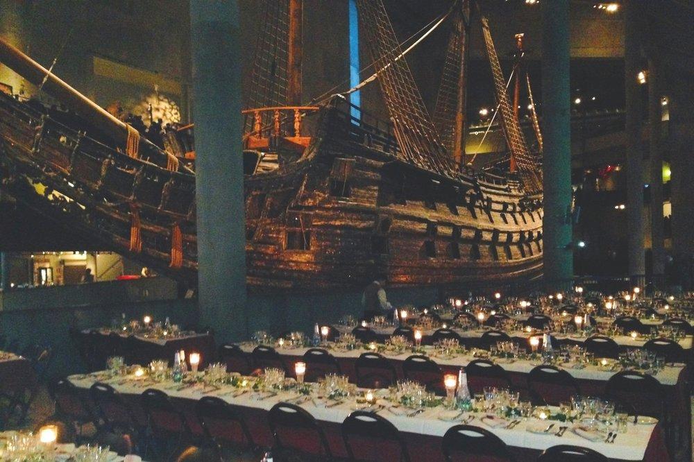 ISSFAL 2014 CONGRESS GALA DINNER   Vasa MUSEUM, STOCKHOLM