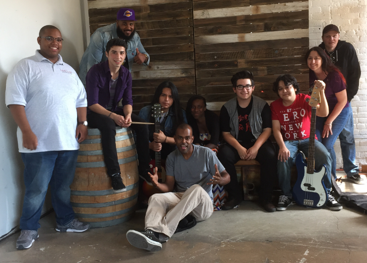 The david's harp Foundation  spring semester 2015 friday class from garfield high school