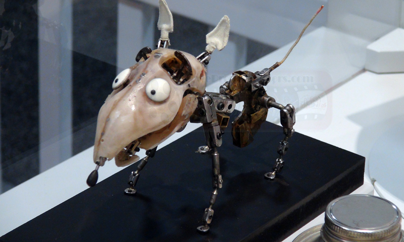 The Armature created for Sparky, by Mackinnon and Saunders  Source: Stop motion geek