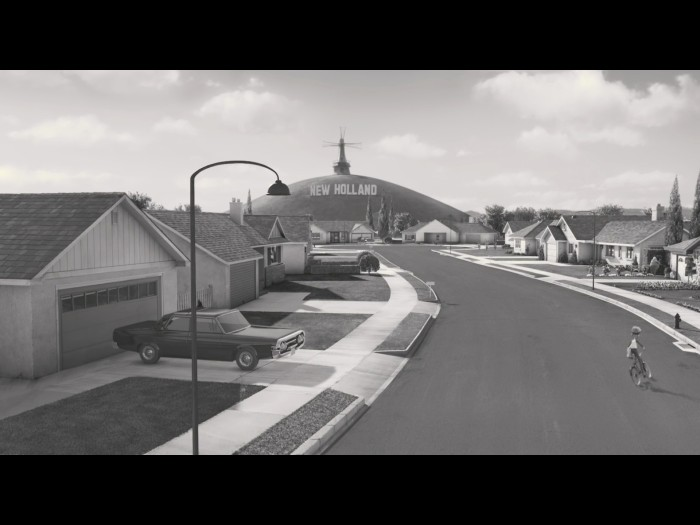 A set that could be from a 60s live action film.  Source: Frankenweenie