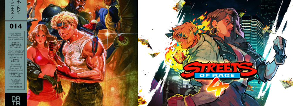 (Image: Streets of Rage 3 vs Streets of Rage 4)