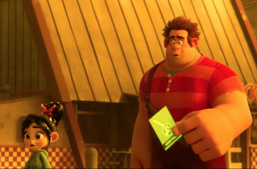(Image: copyright Disney 'Wrech-It Ralph 2')