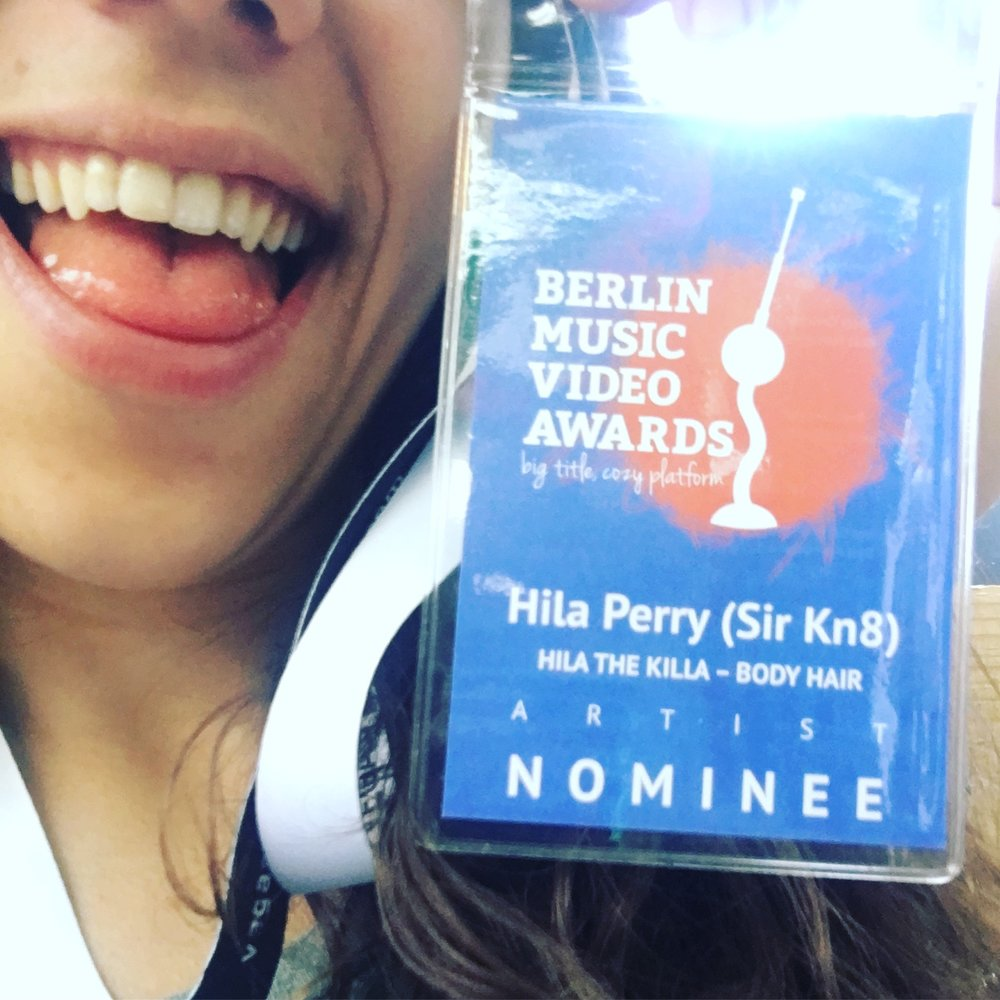 Proud to be a nominee, not proud of how I dealt with this plastic.
