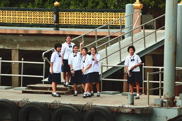 Students on a Dock   Bangkok.jpg