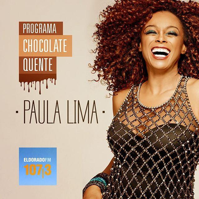 Às 20h tem #ChocolateQuente na @radioeldorado! Já sintoniza 107,3FM ou use esse link: bit.ly/EldoradoChocolateQuente pra não perder! 💛#EquipePL