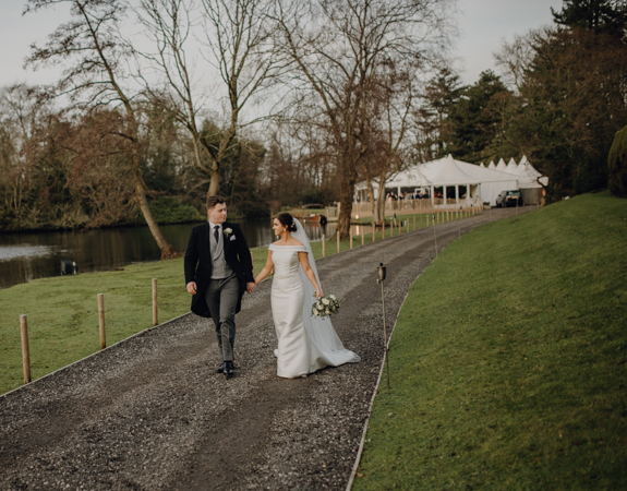 WINTER WEDDING LAKESIDE MARQUEE THORNTON MANOR-84.jpg