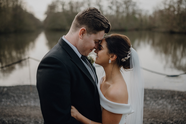 WINTER WEDDING LAKESIDE MARQUEE THORNTON MANOR-104.jpg