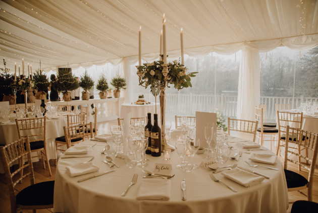 WINTER WEDDING LAKESIDE MARQUEE THORNTON MANOR-176.jpg