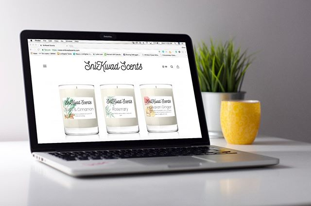 We don't know about your workspace, but nothing helps us stay calm and focused other than our @snikwad.scents soy-based candles! We were so happy to be able to do their branding and design their website 👩🏻💻 . . . .  #livdigital #windsor #yqg #graphicdesign #printdesign #webdesign #businesscards #branding #logodesign #designer #local #digital #social #marketing #advertising #rebranding #socialmedia #facebook #instagram #twitter #print #businesscards #printdesign #canadianprinters #entrepreneur #founder #businessowner