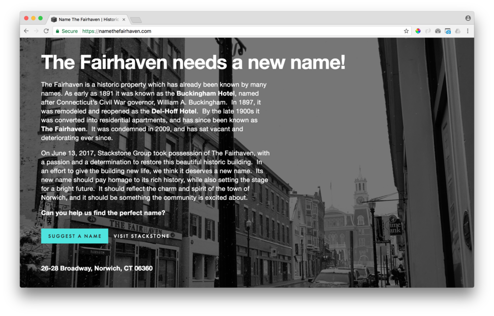 - namethefairhaven.com