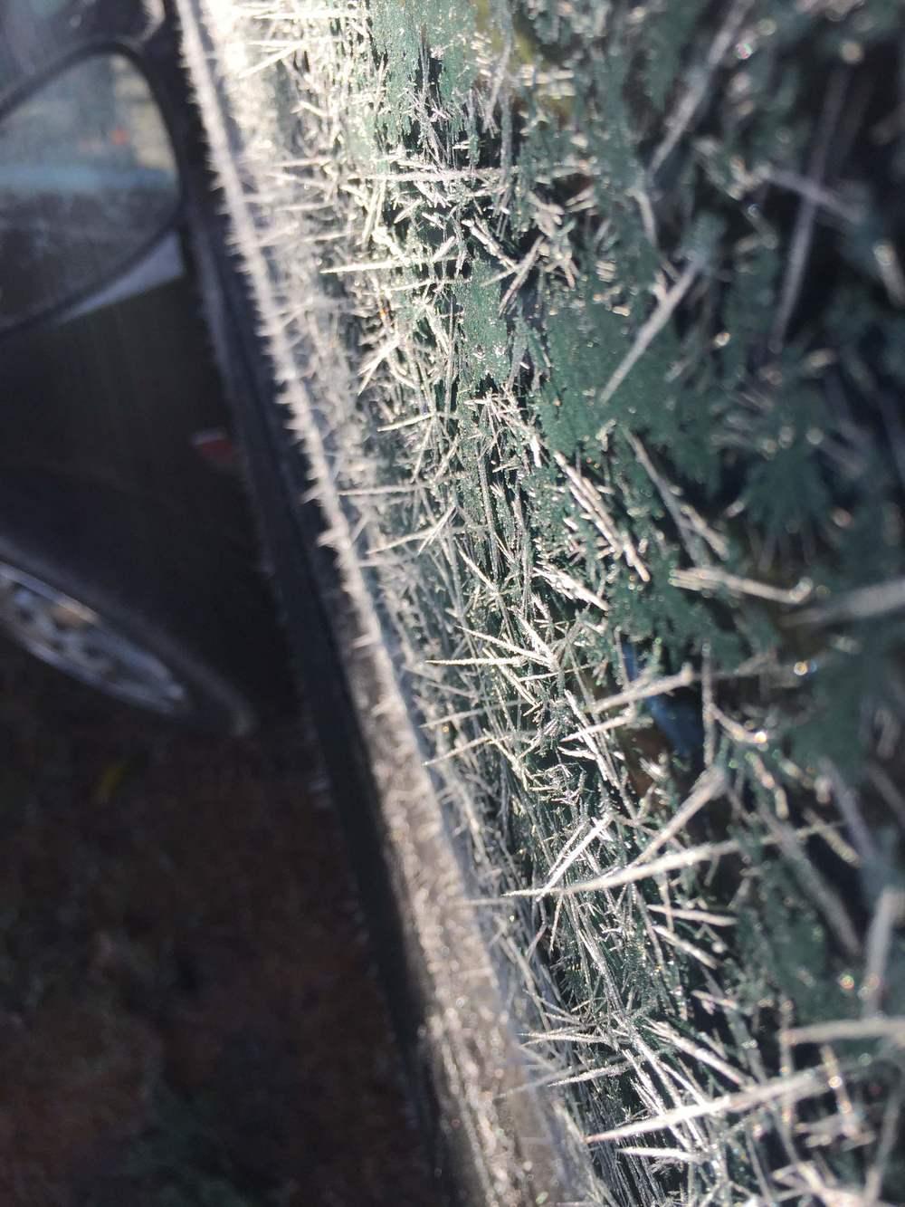 I phone photo of my car.