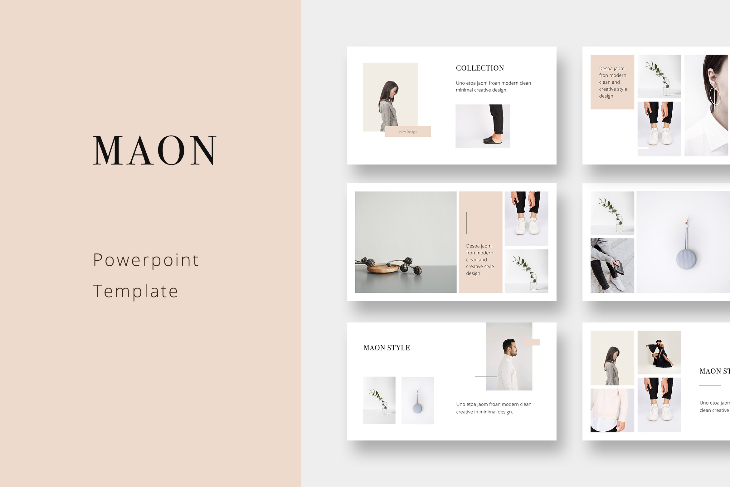 MAON - Powerpoint Template — PIXASQUARE