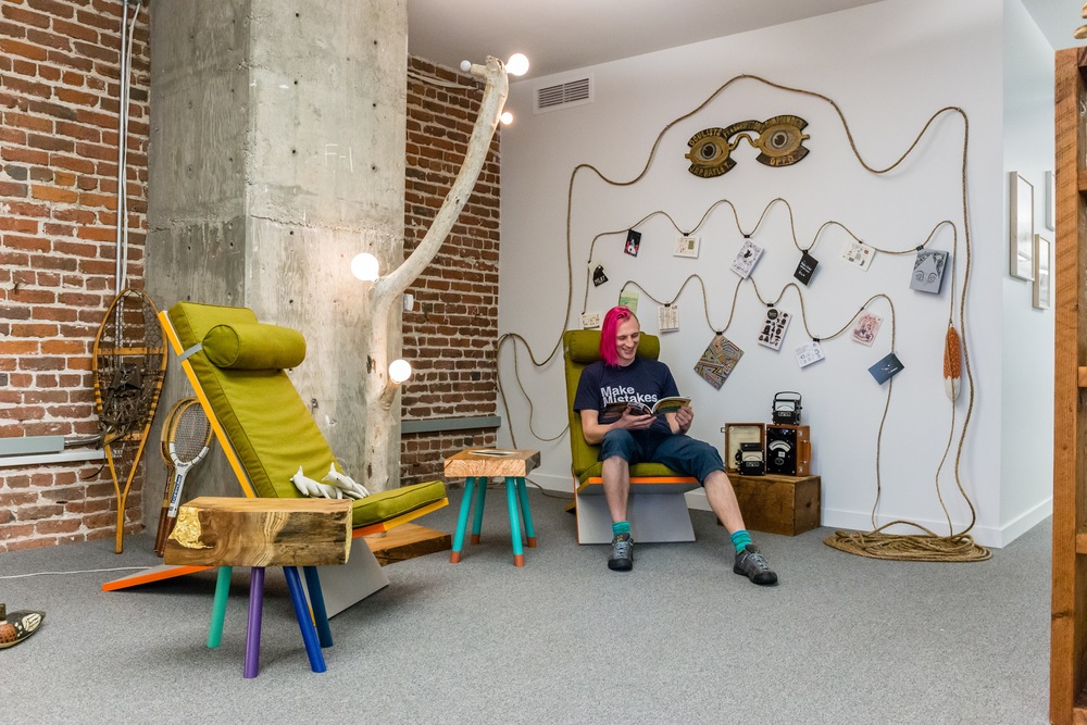 Etsy San Francisco / Office Design / Art Curation / Hanna Alvgren
