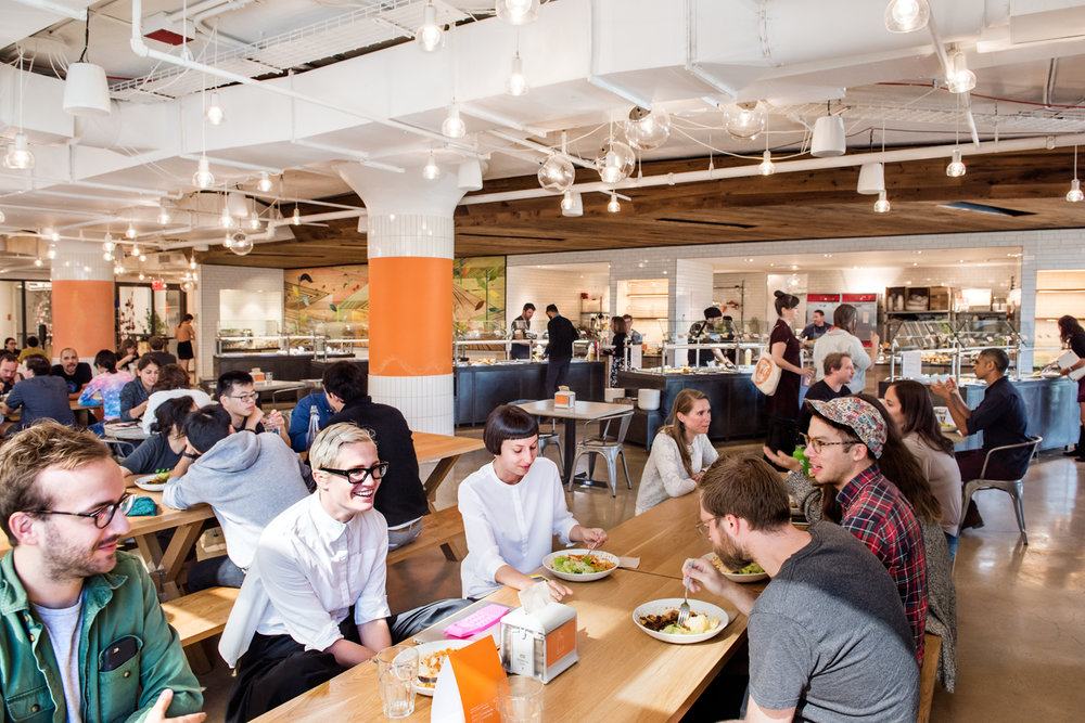 Etsy HQ Cafeteria