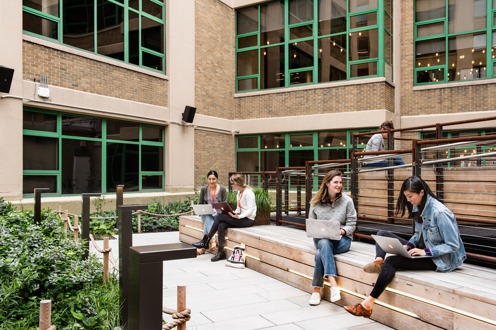 Etsy HQ exterior terrace