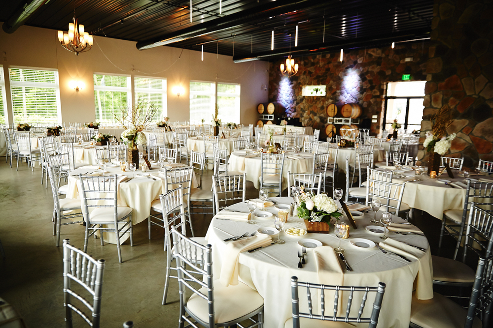 Venue: Winehaven Winery and Vineyard | Photography: Justin Mark Photography | Videography: Virtuoso Video Productions | Hair: Kari Kranston at Mask Hair Design| Make-Up: Karen Wagner | Ceremony and Social Hour Music : Hanson & Hoyt| Dinner/Reception DJ: Instant Request | Catering : Mintahoe Catering & Events| Late Night Snack: Pizza Man | Photobooth: The Traveling Photo Booth | Officiant: Cristopher (Cris) Anderson | Florist: Bloom by Design| Transportation: Mary Ann's Tours & Stillwater Trolley