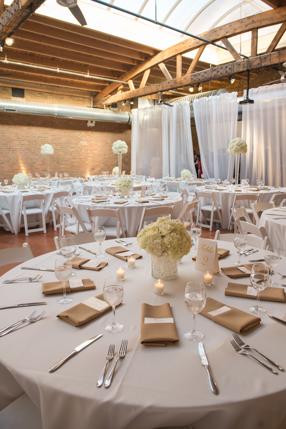 Venue:  Loft on Lake  | Photography:  Thara Photo  | Planning:  Elisa , The Simply Elegant Group | Draping:  Art of Imagination  | Floral:    Gratitude Heart Garden  | Catering:  FireFly  | Cake:  West Town Bakery  | Bar:  Binny's  | Reception:  Toast & Jam Transportation:  Windy City Limo