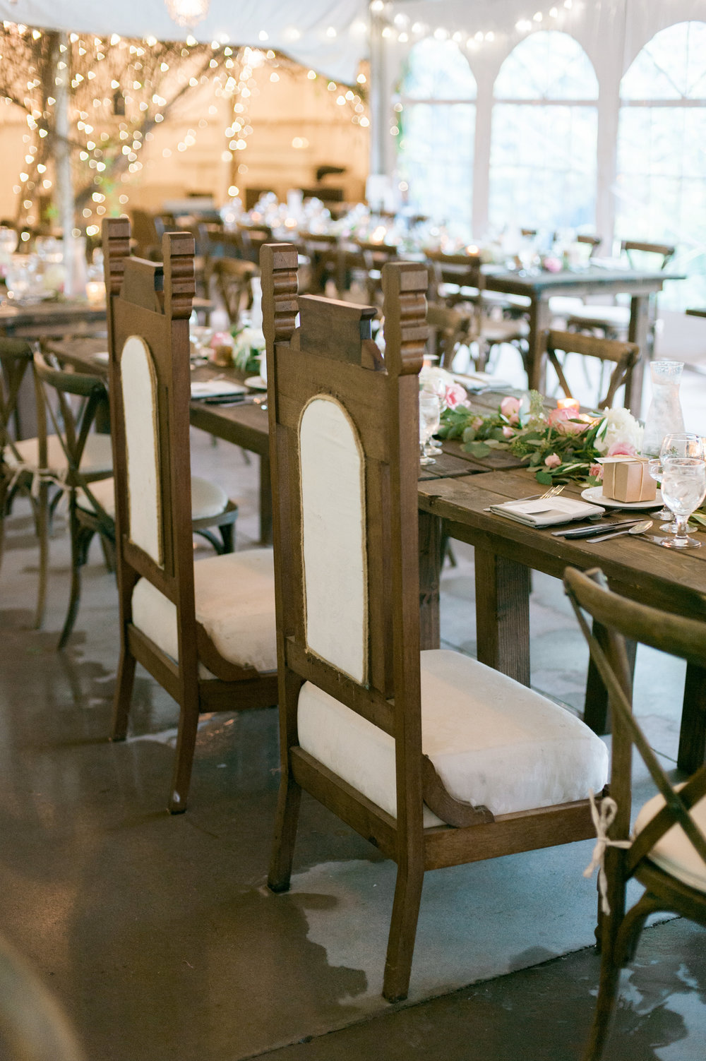 Venue & Flowers: Camrose Hill Flower Farm | Photography: Emily Steffen Photography | Videography: Sunset Blue Productions | Hair/Makeup: Hayley Sachs Artistry | Stationery:  Printerette Press | Catering: Chowgirls Killer Catering | Bartending: With a Twist | Dessert: Pattiserie 46 and Buttercream Bakery | Coffee: Coffee Cart | Ceremony Music: Loring String Quartet | Reception Entertainment: Adagio | Rentals: Ultimate Events | Gown: Allure Bridals, Our Shop