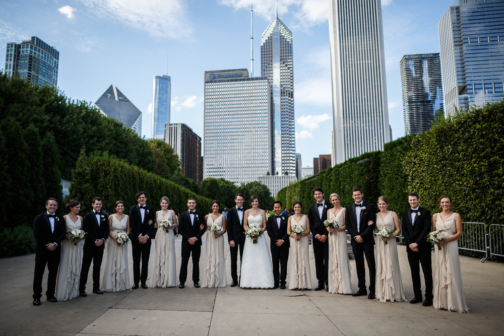 BridalPartyDowntownChicago