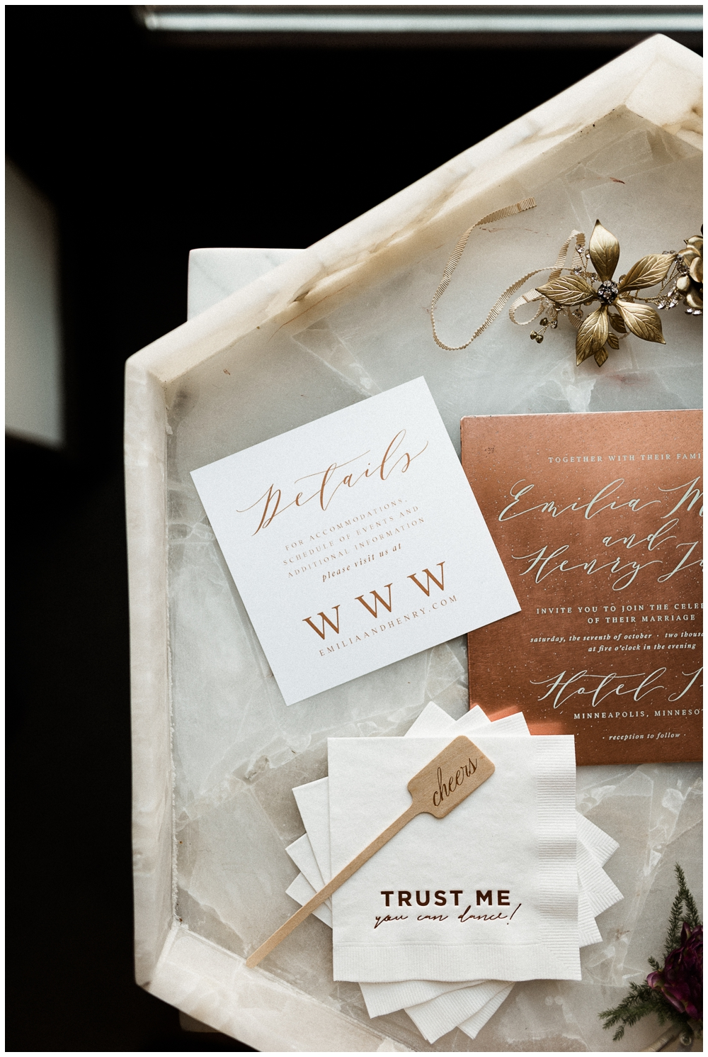 Minneapolis Wedding Planner | Bold, Moody Wedding Inspiration at ...
