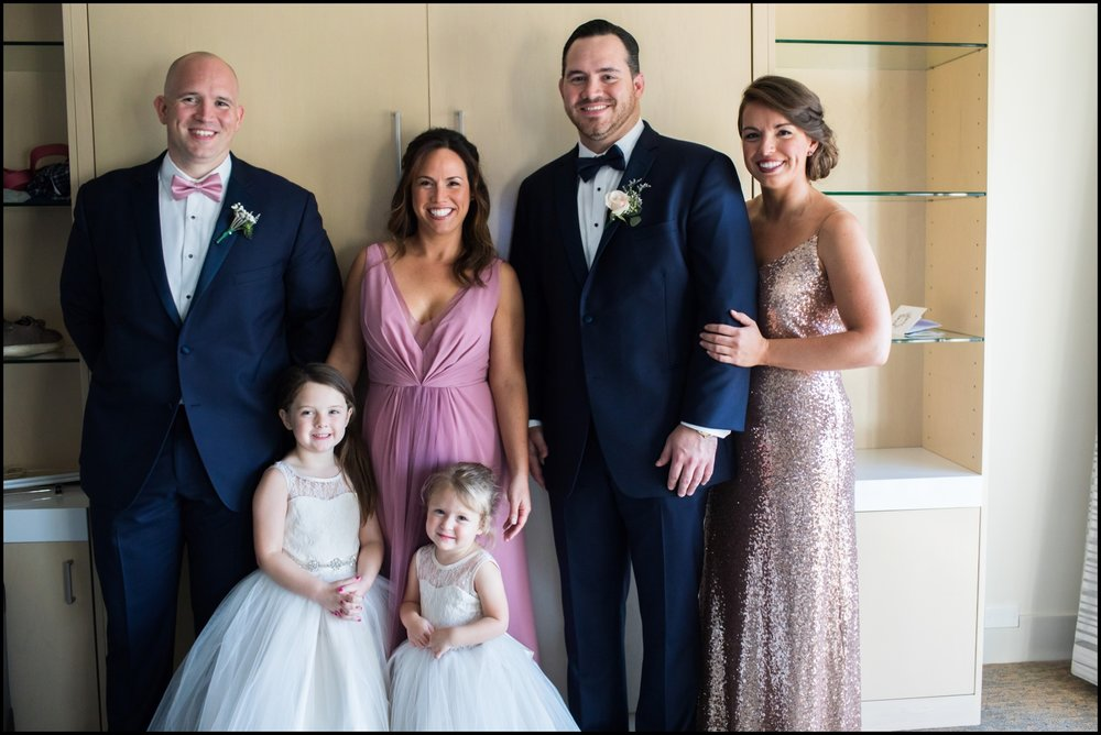groom with his family