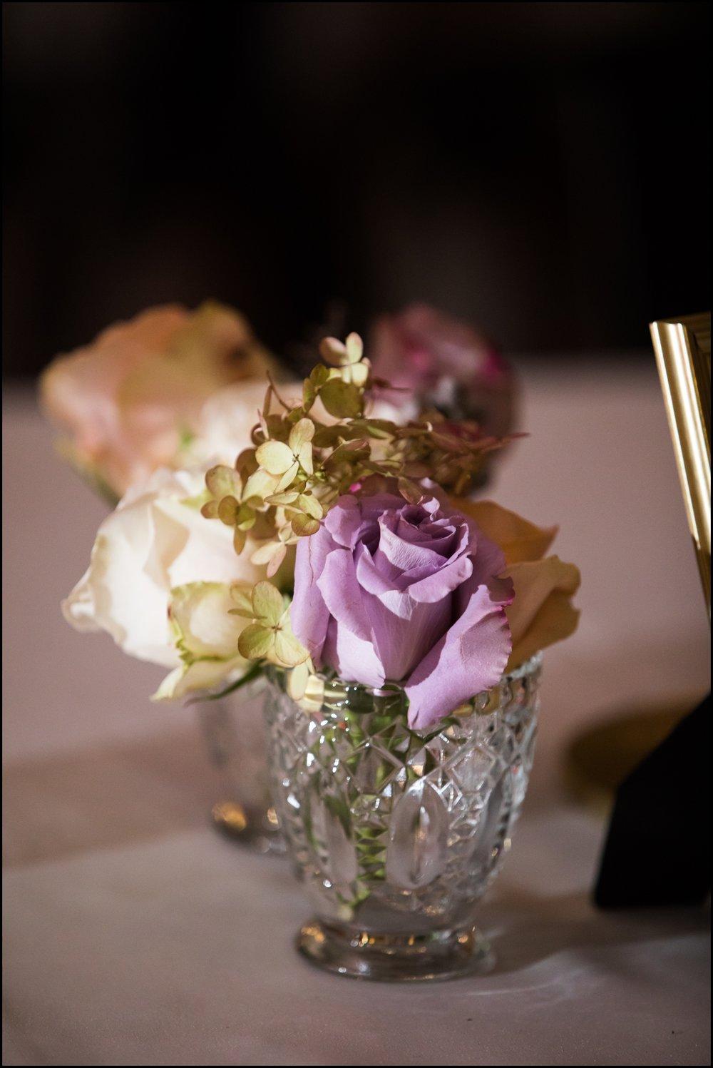 flower wedding centerpiece