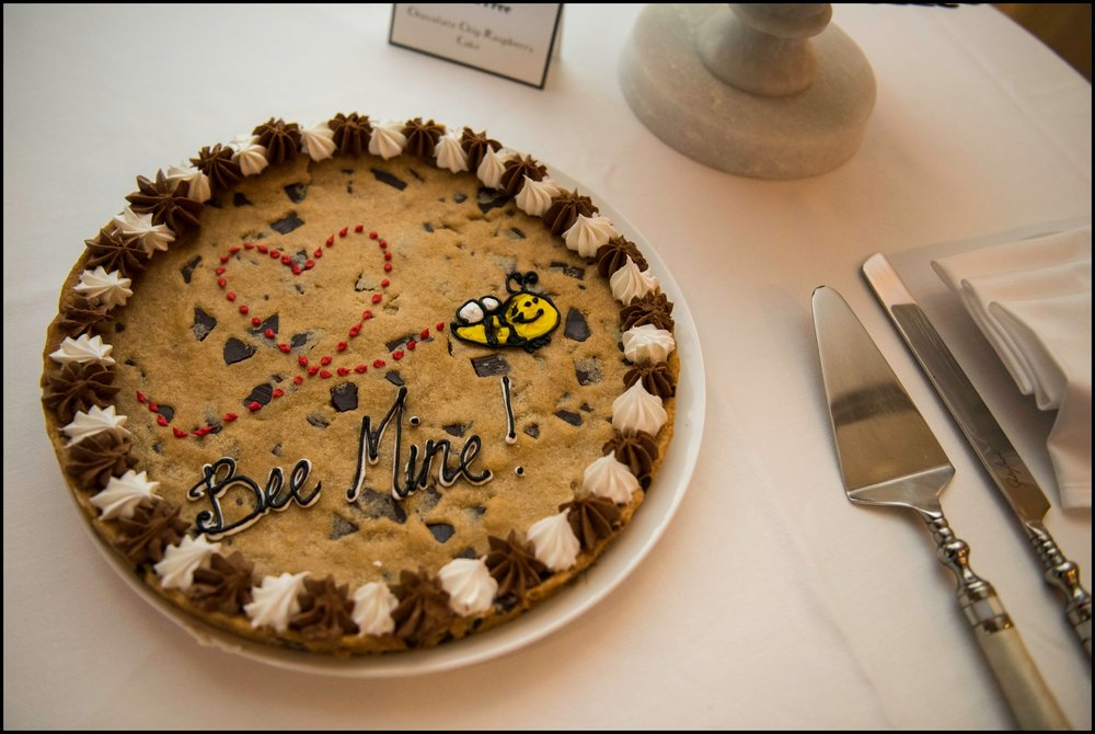 cookie cake for wedding
