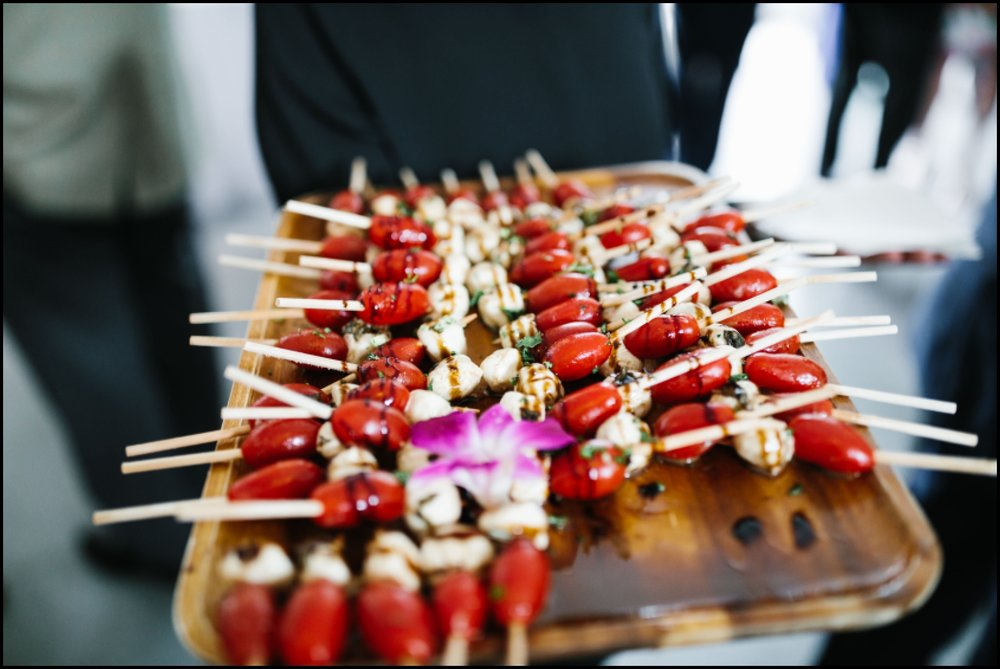 catering food at Hutton House