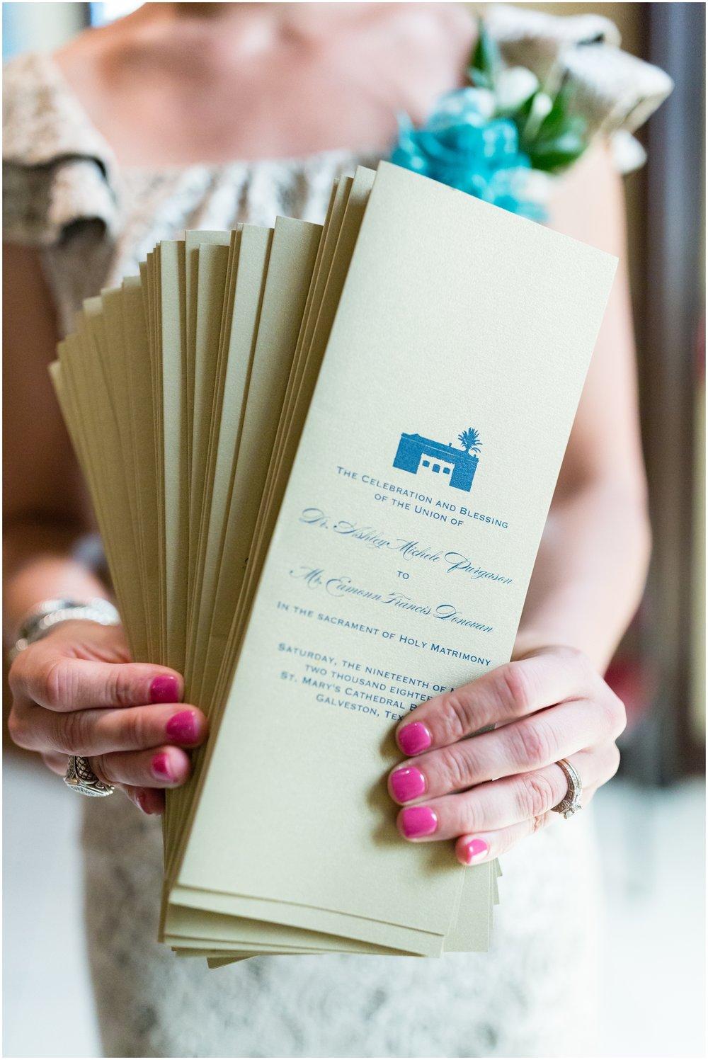 Texas wedding details