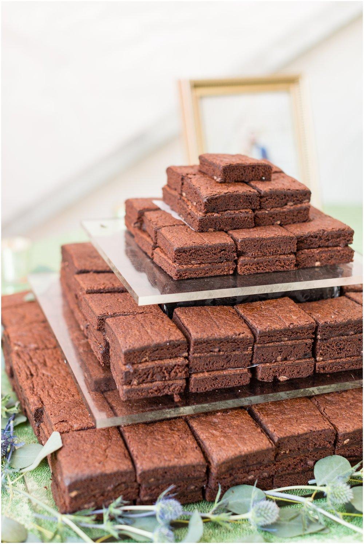 brownie dessert display