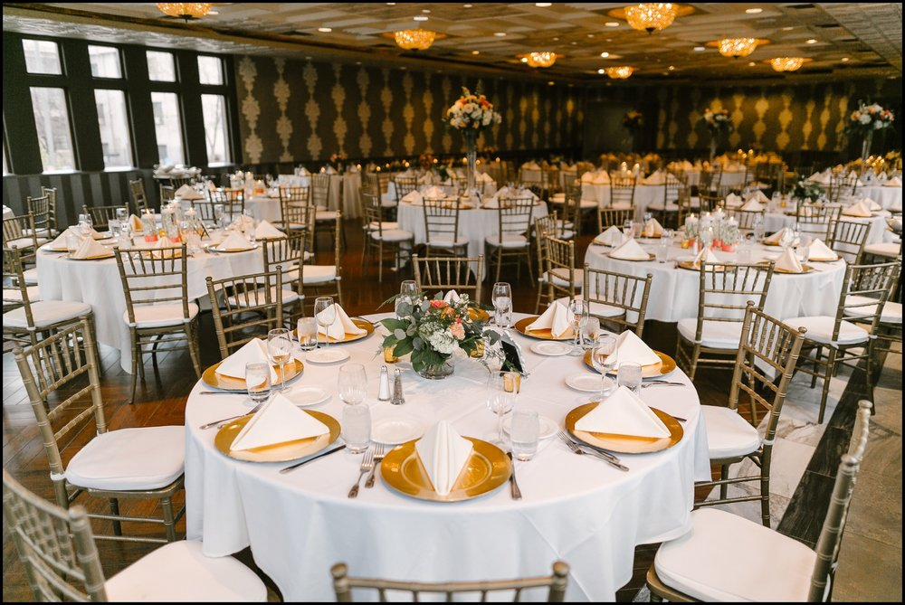 wedding reception planned by wedding planner