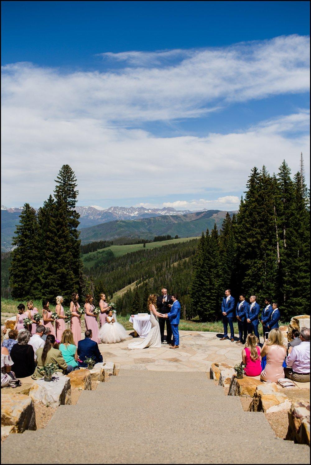 Denver wedding ceremony