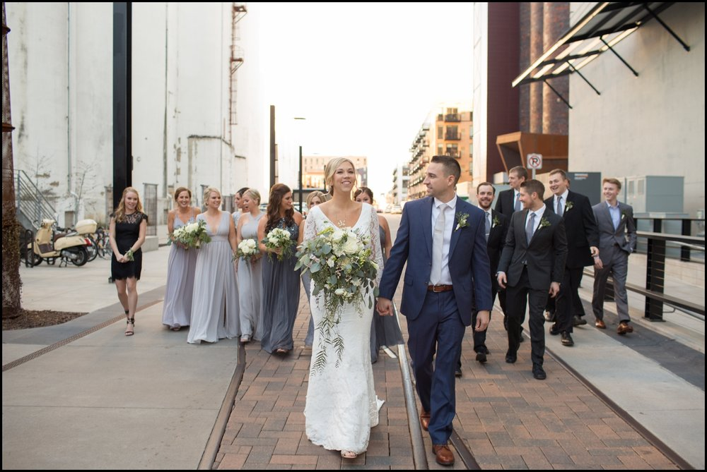 Bridal party in MN