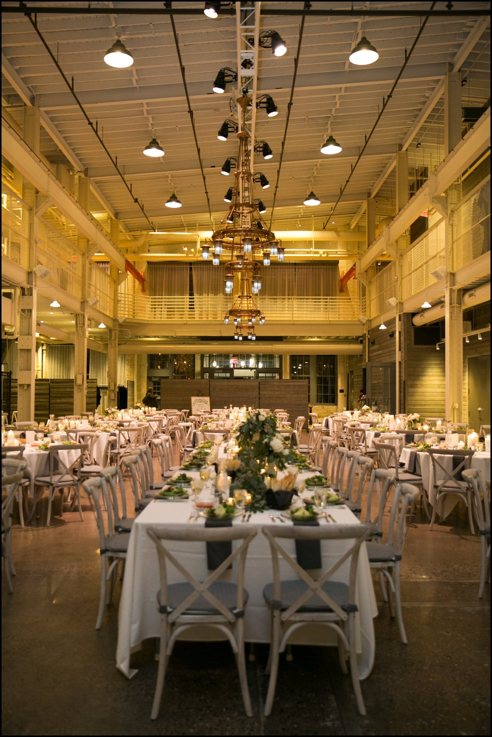 Wedding reception in Machine Shop MPLS