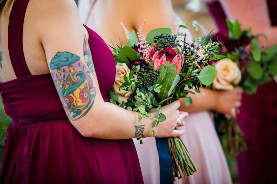 bridesmaids wedding bouquet