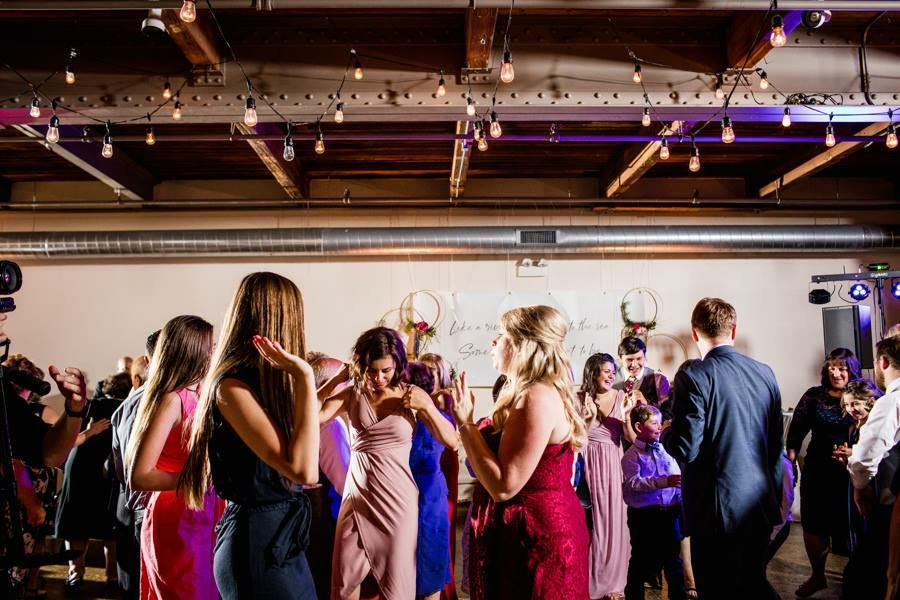 Wedding reception in Chicago