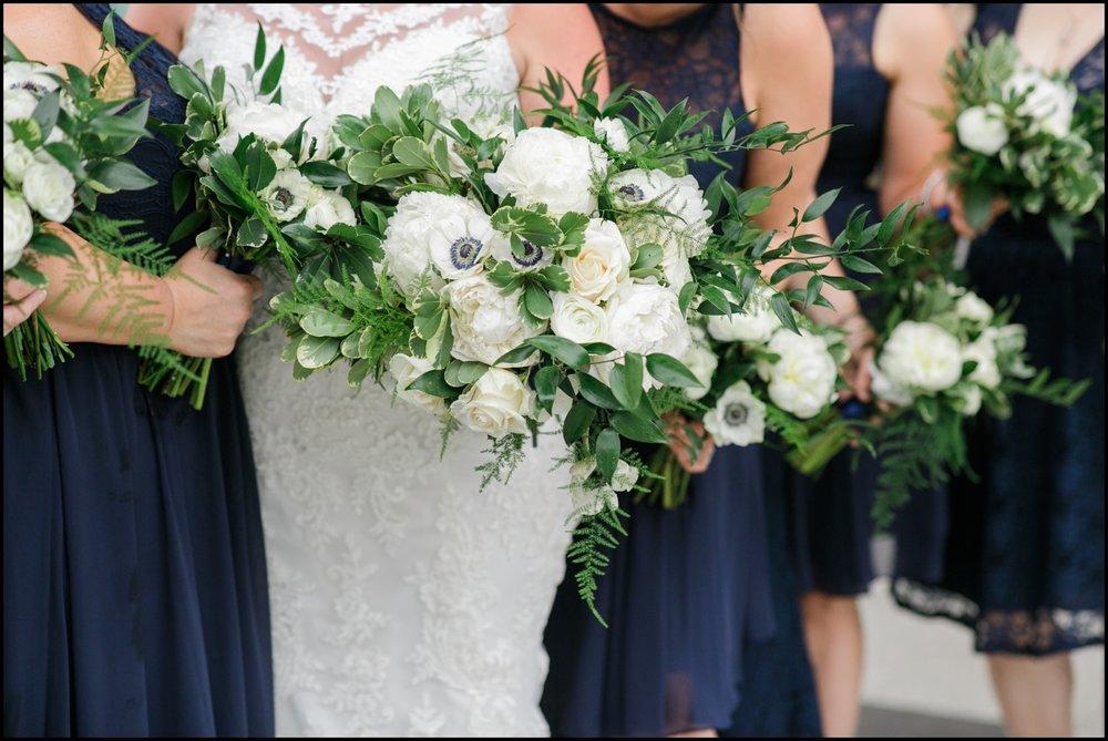 Bride's bridal bouquet