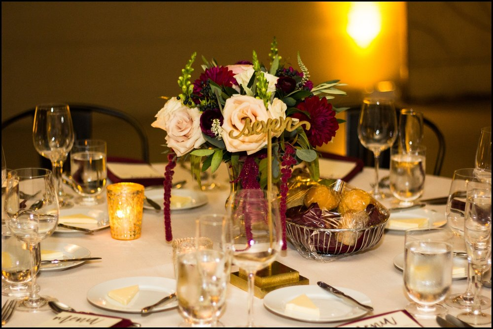 Wedding Centerpiece and table set