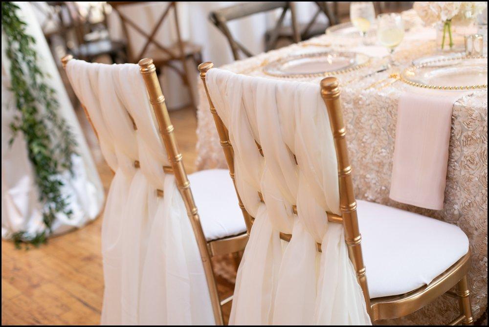 Classy wedding chairs